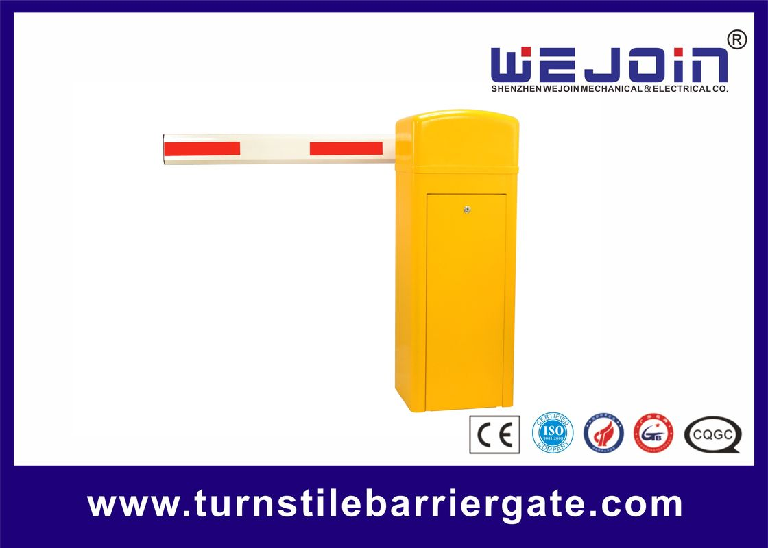 automatic toll gate with vehicular security