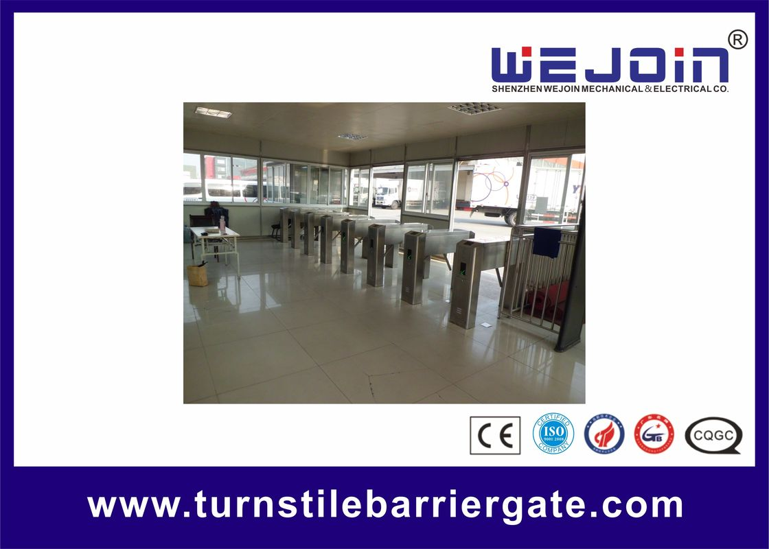 Full Automatic Systems Access Control  Tripod Turnstile Gate With DC12V Pulse Signal nhà cung cấp