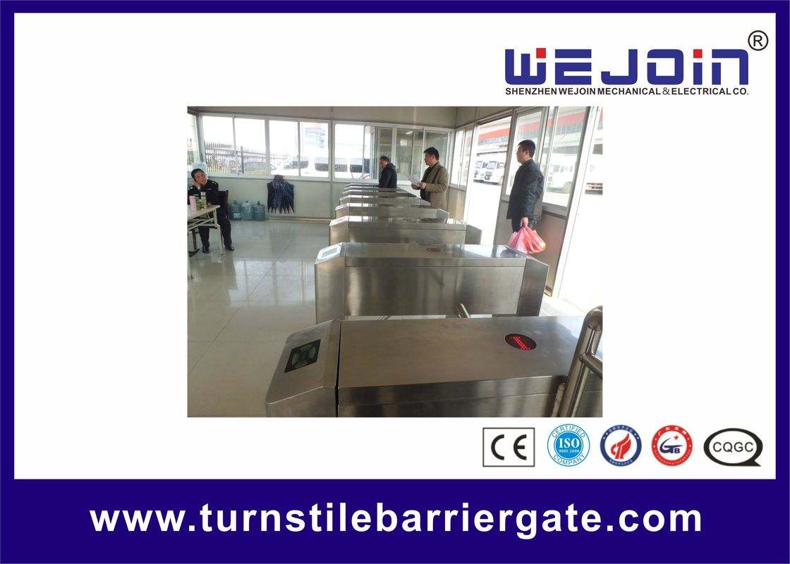 Comapct safety mechanical Tripod Turnstile Gate with Stainless Steel Housing For Bus, Train Stations nhà cung cấp