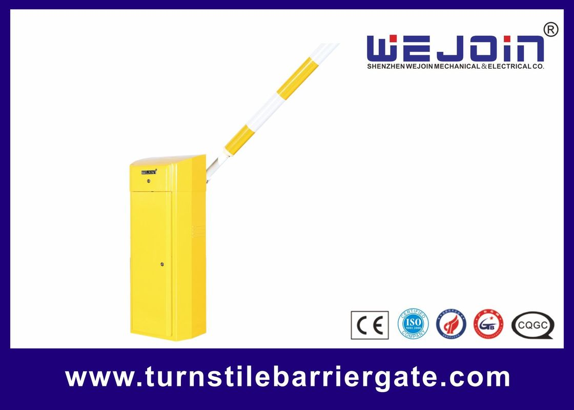 Commercial Variable Frequency Automatic Barrier Gate For Toll Applications , 1-5s Adjustable