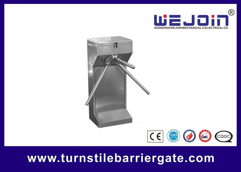 Full Automatic Turnstile Barrier Gate Double Direction With Passenger Countes