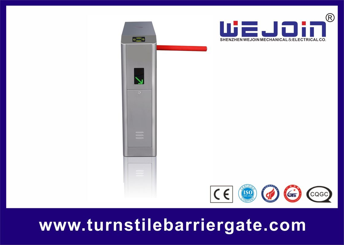 Double Direction Turnstile Barrier Gate 30~40 Persons / Min 36W Arm Auto Dropping