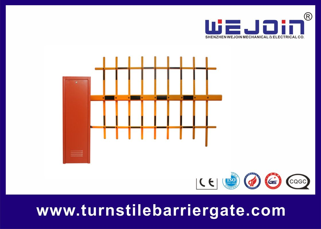 Bi Directional Car Park Entrance Barriers , Parking Lot Barrier Gate 120 Watt