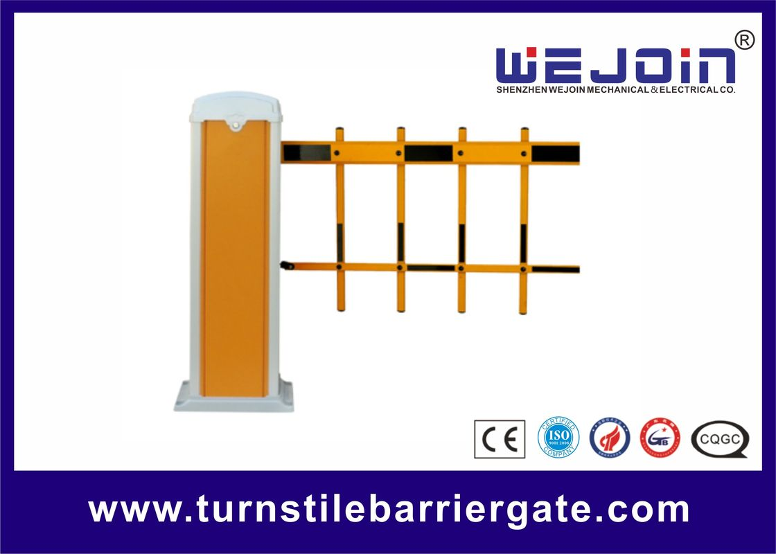 Aluminium Arm Automatic Boom Barrier System 1.5-6s Open / Close Speed For Parking Lots