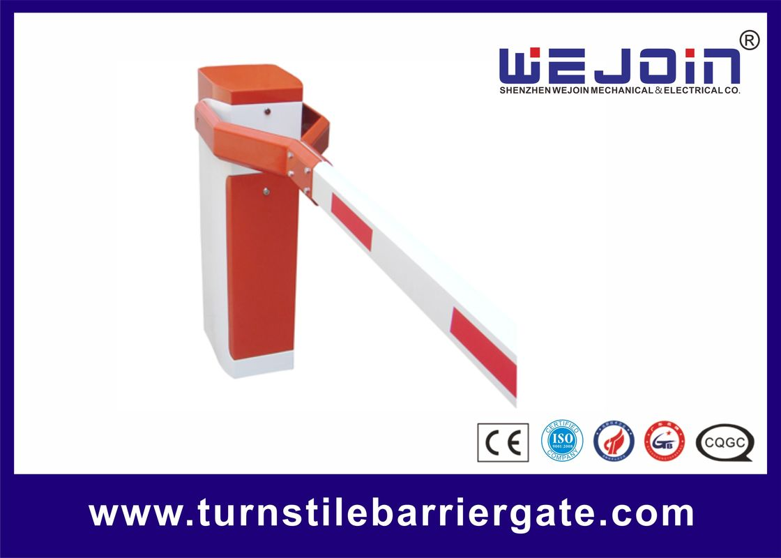 High Speed Boom Gate Access Control , Automatic Boom Barrier System RS485 COM Interface