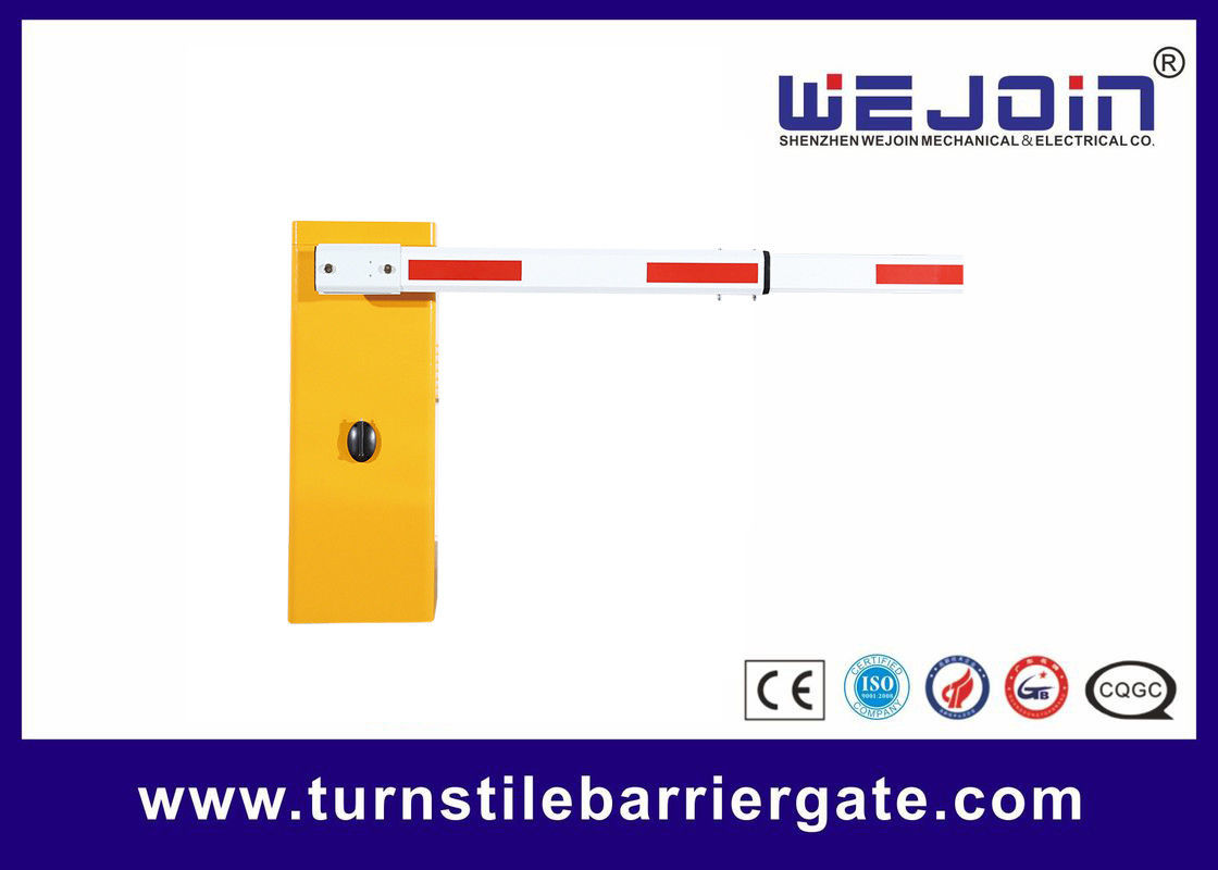 High Speed Car Park Barrier Entry Systems 50/60HZ For Vehicle Access Control