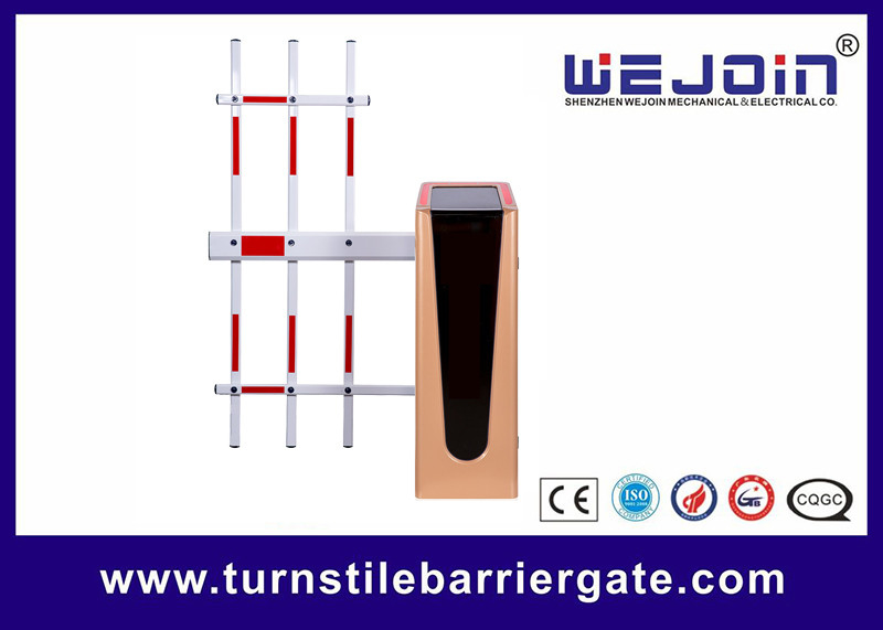Heavy Duty RFID Automatic Parking Barrier Gate 0.9 - 5s Operating Time